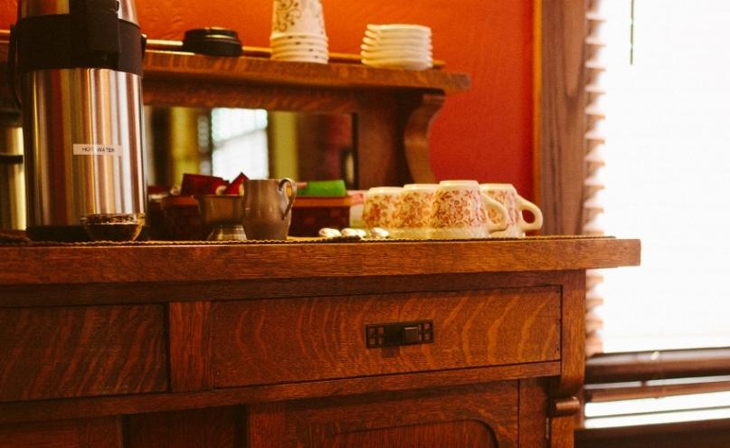 Coffee and Tea Buffet at The Buckingham Inn.jpg