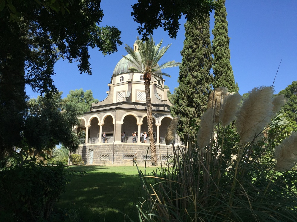 Some of the gardens surrounding the Church of the Beatitudes.