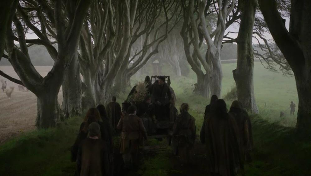 Escape de Arya Stark de Desembarco del Rey
