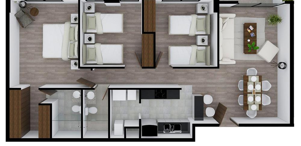 Status 3 dormitorios
