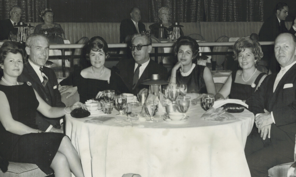 My elegant mother-in-law Sol Koppel is on the right with friends at the Waldorf Astoria some time in the 1950s.