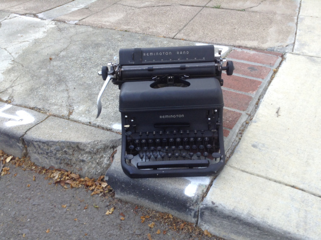 Image borrowed from a typewriter blog - really!