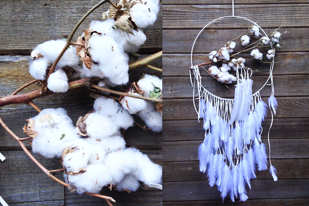 Large Cotton Dreamcatcher