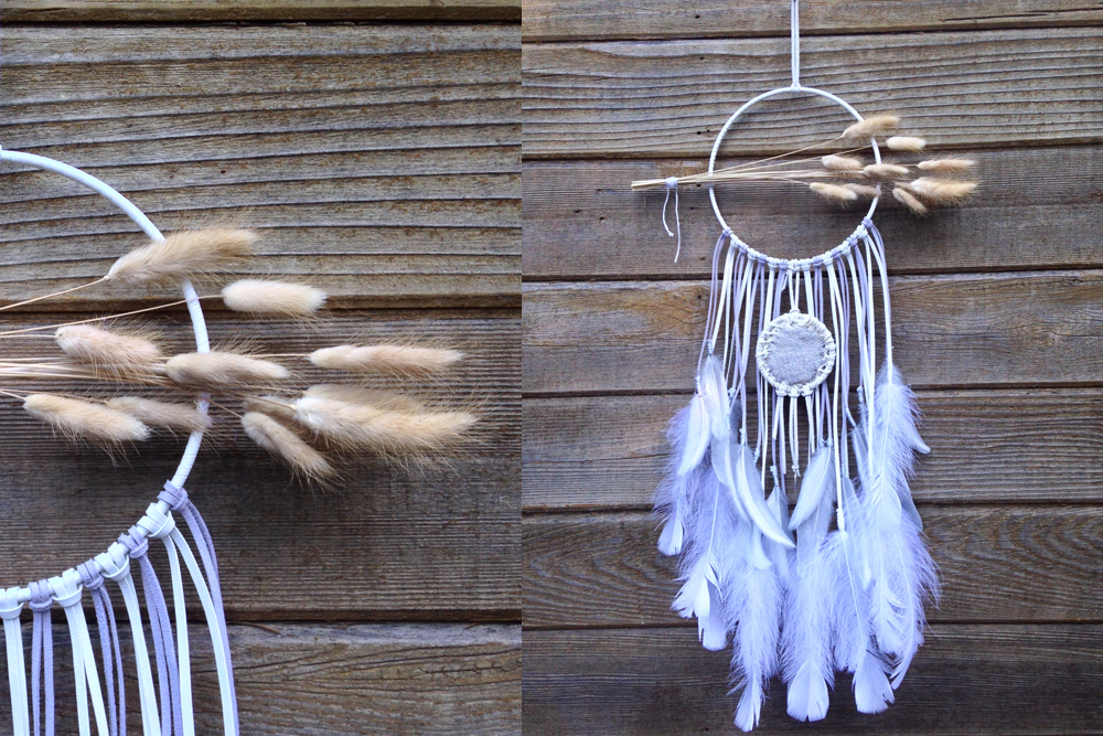 Dried Lavender Pouch Dreamcatcher