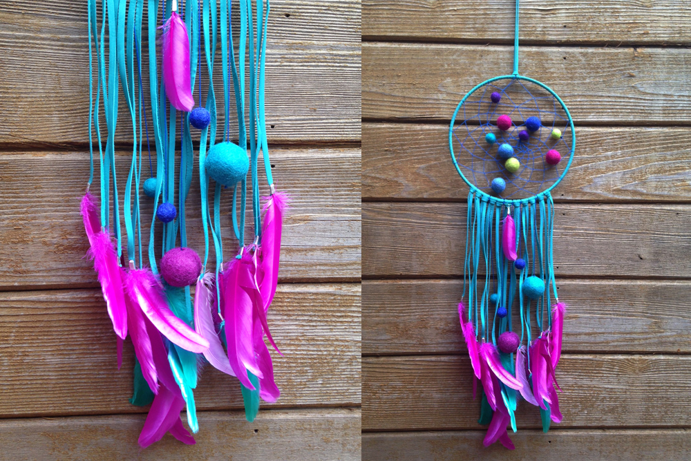 Pom Pom Galaxy Dreamcatcher