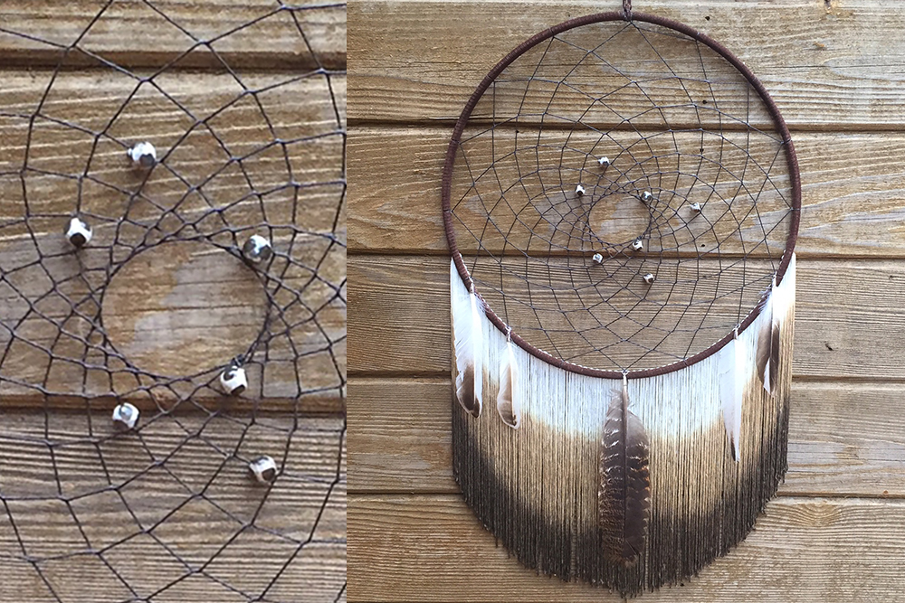 Brown Ombre Dreamcatcher