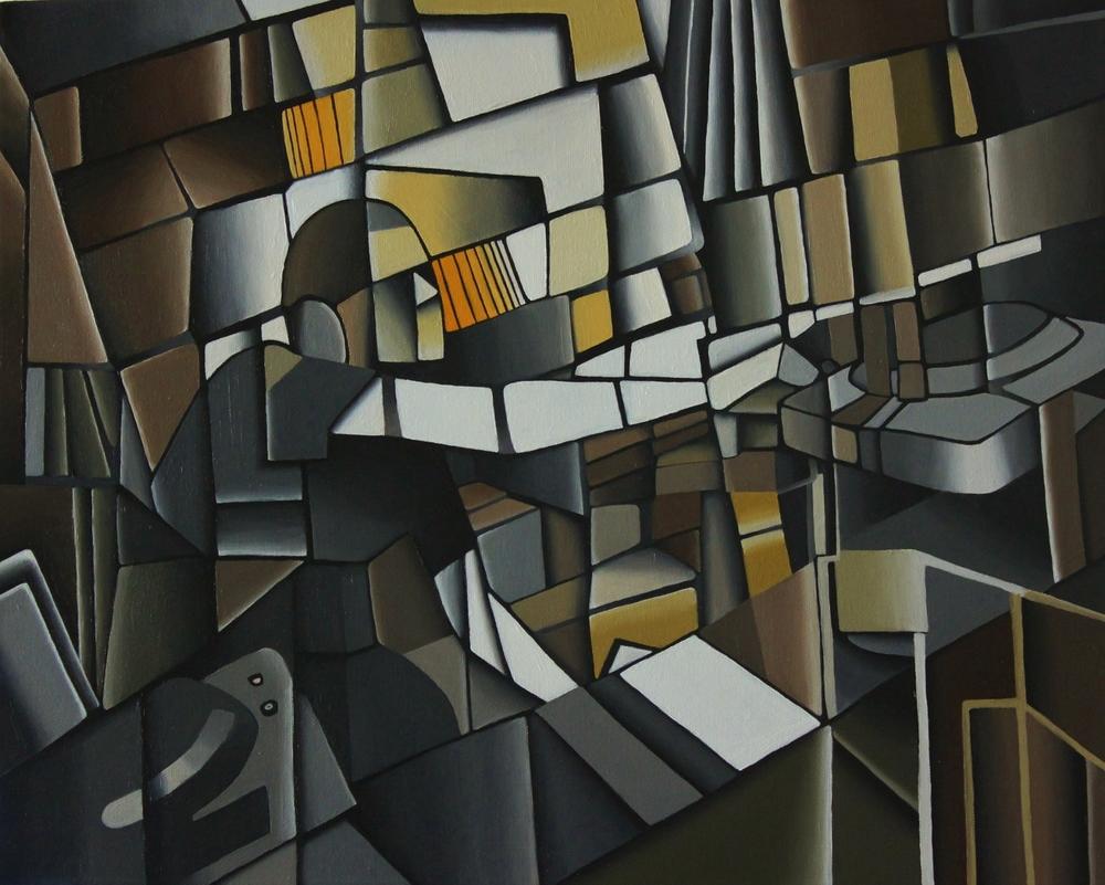 Breaks - Oil on Canvas (40x50cm)