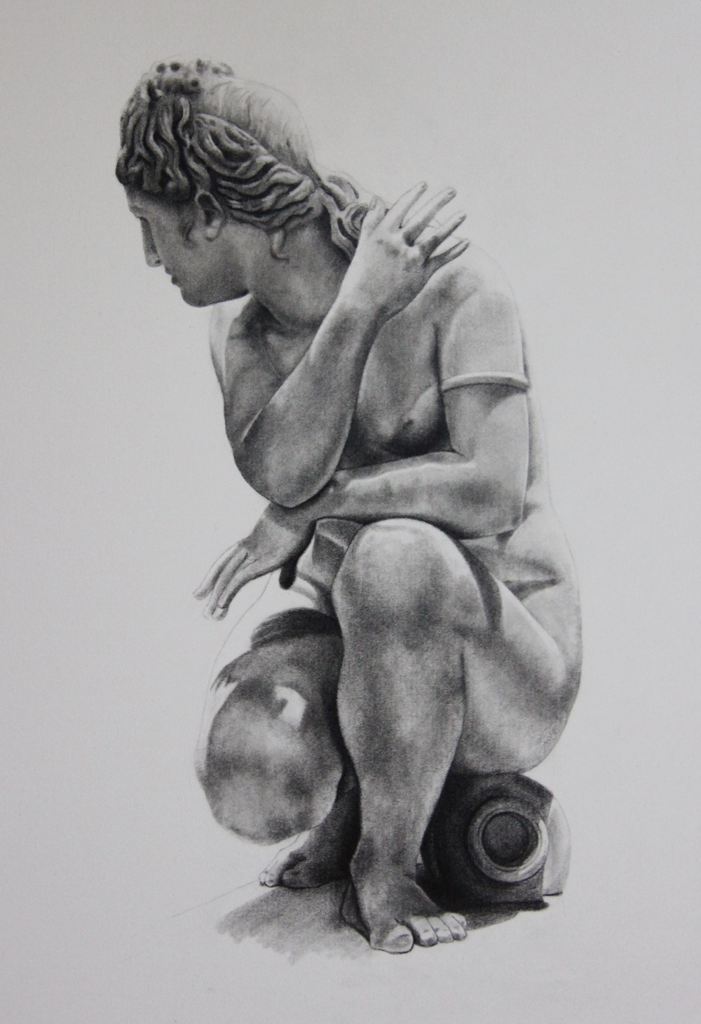 Statue - Pencil On Paper (26x36cm)