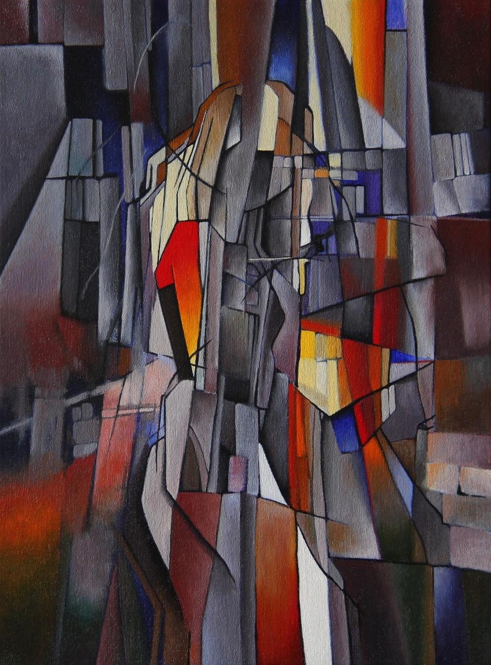 Mode #1 - Oil on Canvas (30x40cm)