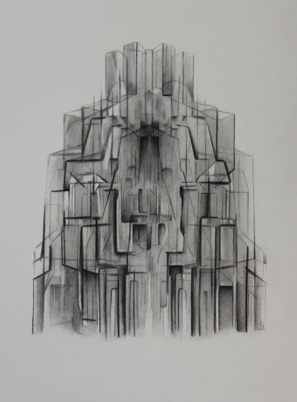 Reassembling - Pencil on Paper (26x36cm)