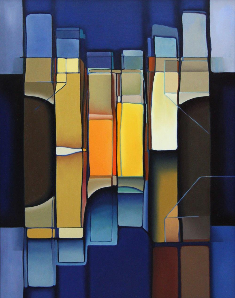 Ommatidia - Oil on Panel (41x51cm)