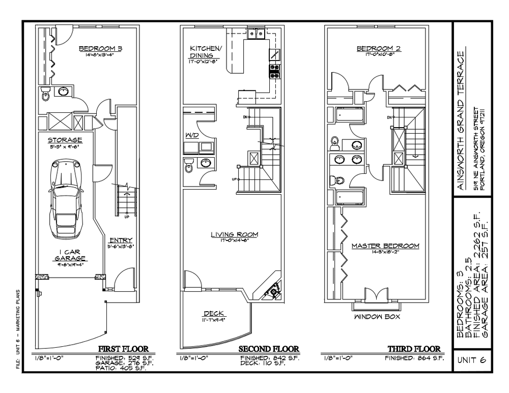 Unit 6 - Floor Plan