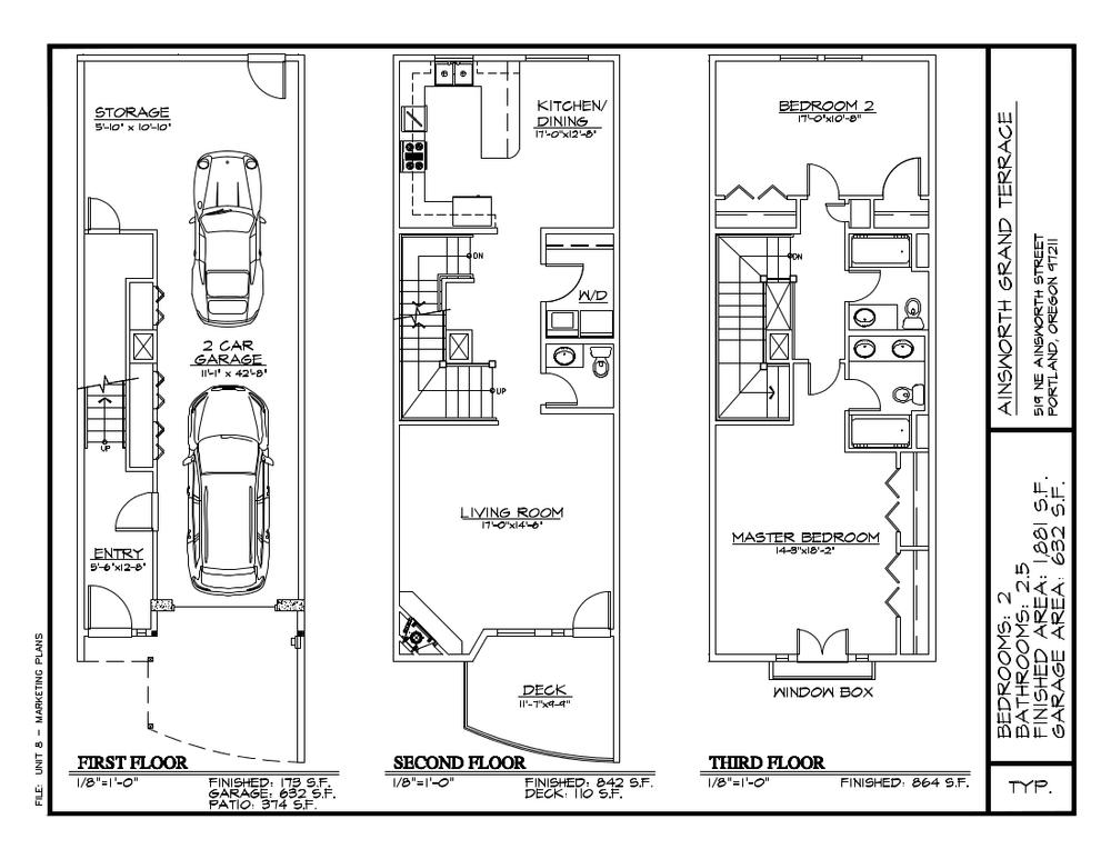 Unit 8 Floor Plan