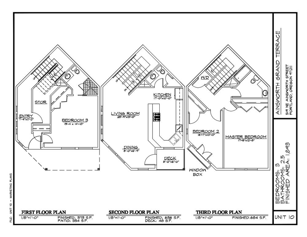 Unit 10 - Floor Plan