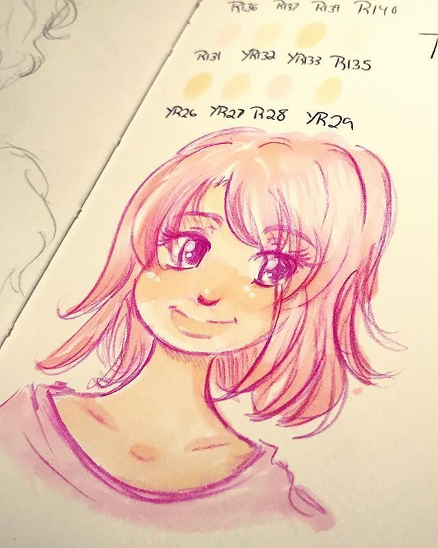 Testing out the #touchmarkers I got today. I'm in love!!!
