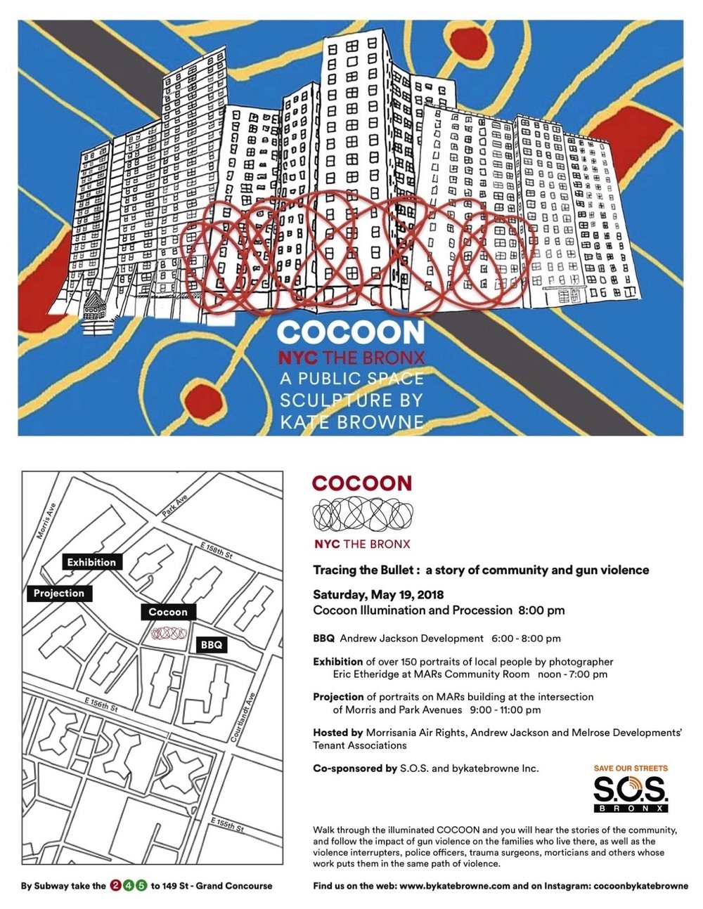 Up Next May 19 2018 Cocoon The Bronx By Kate Browne X11 Wiring Diagram Flyer 85x11