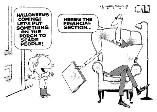 Halloween Financial Comic