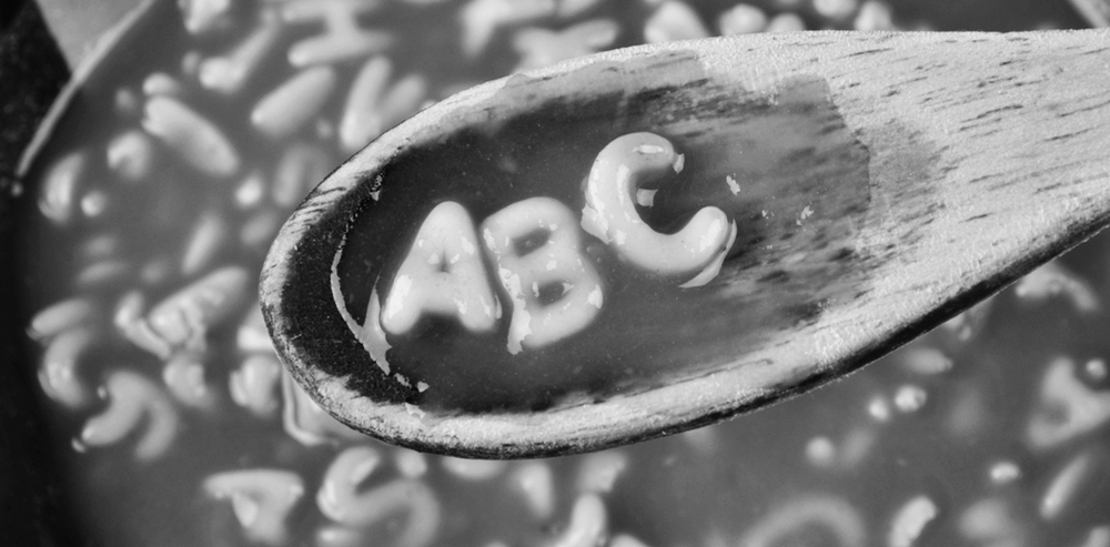 It might look like alphabet soup, but there is meaning in it.