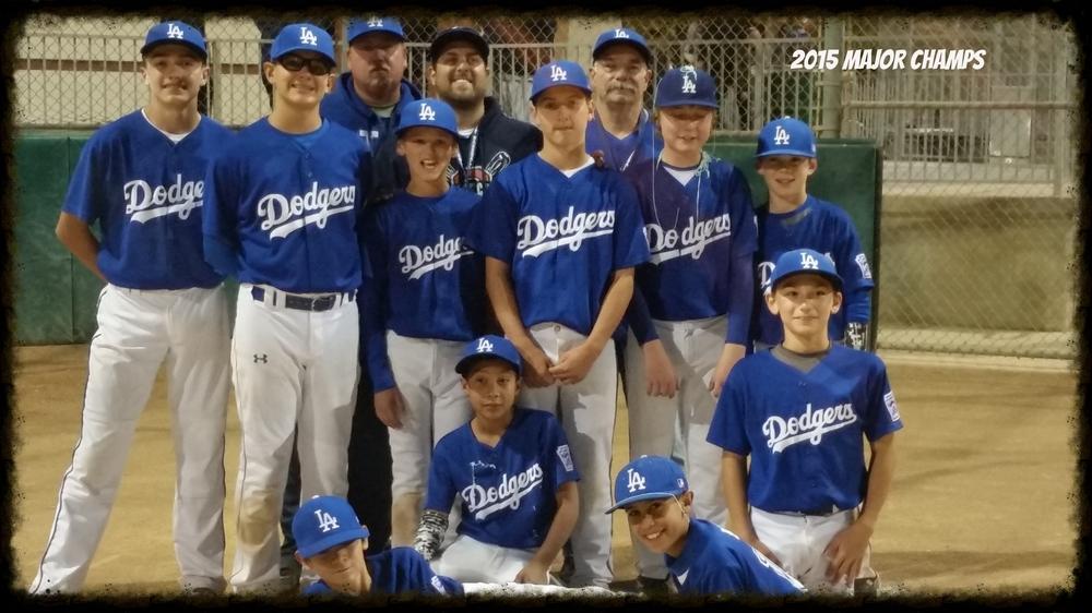 2015 Major Division Champions