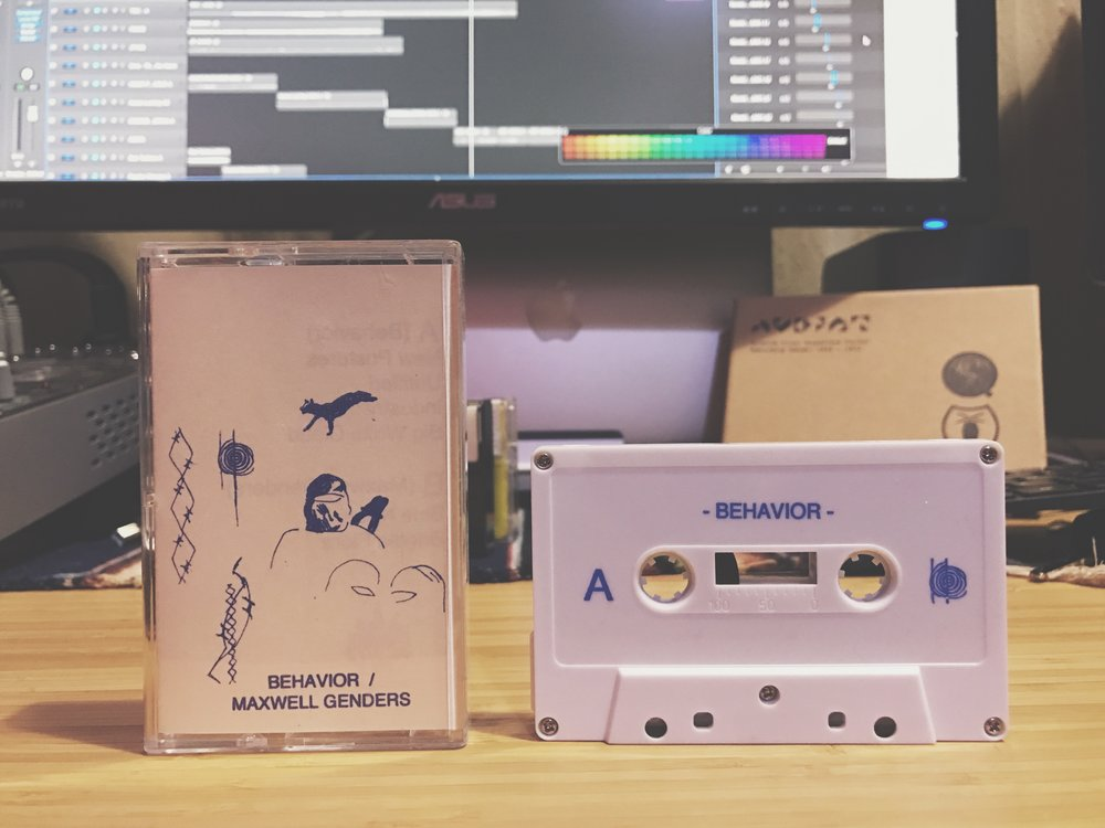 Behaviour / Maxwell Genders (Squid Records)