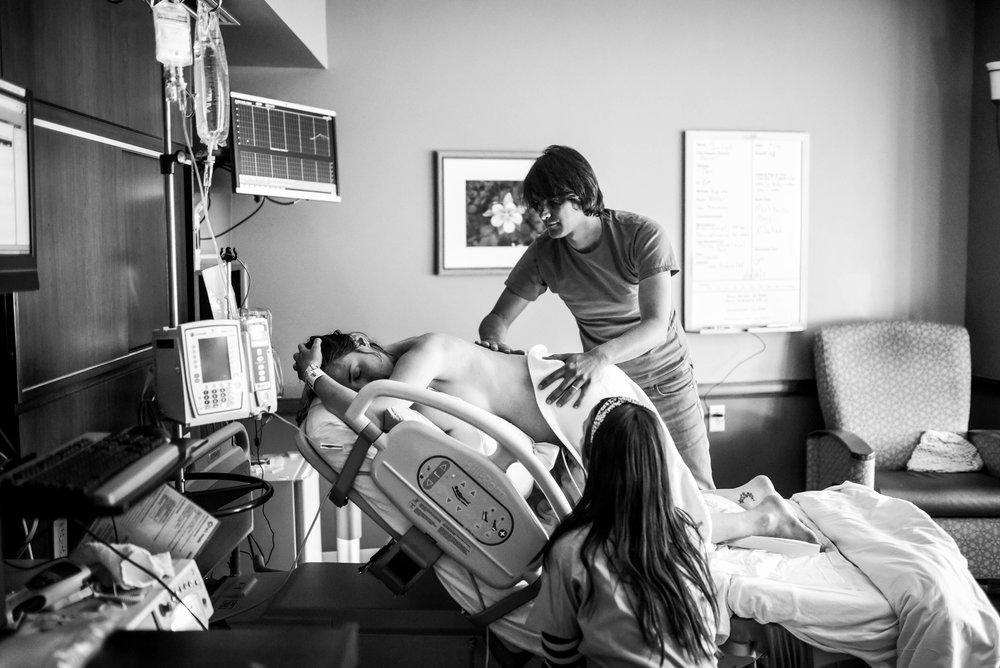 labor at Lutheran Hospital, Wheat ridge Colorado