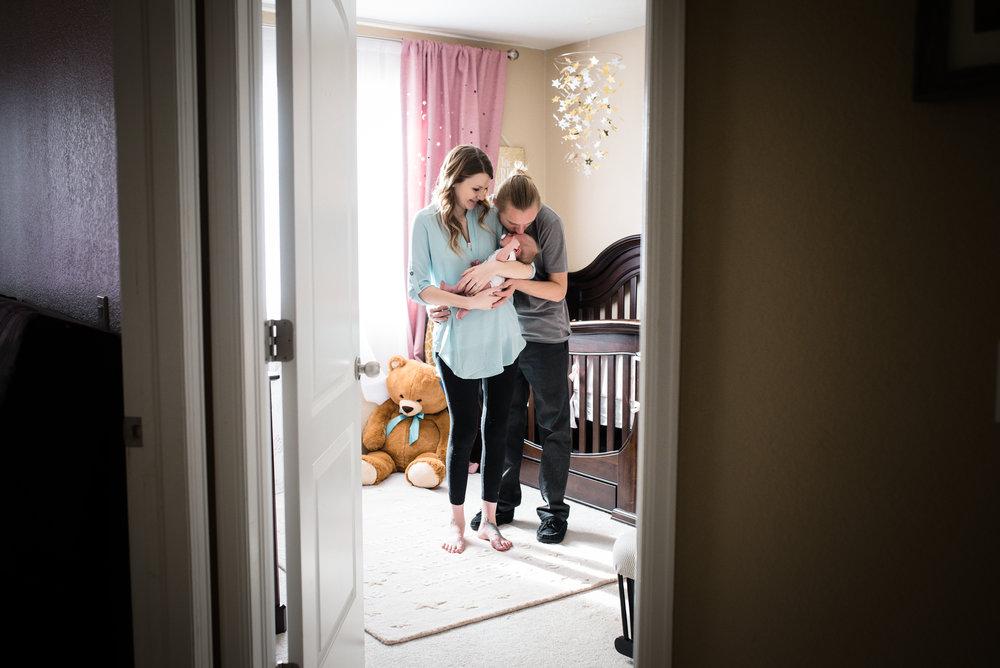 documentary lifestyle newborn shot aurora colorado