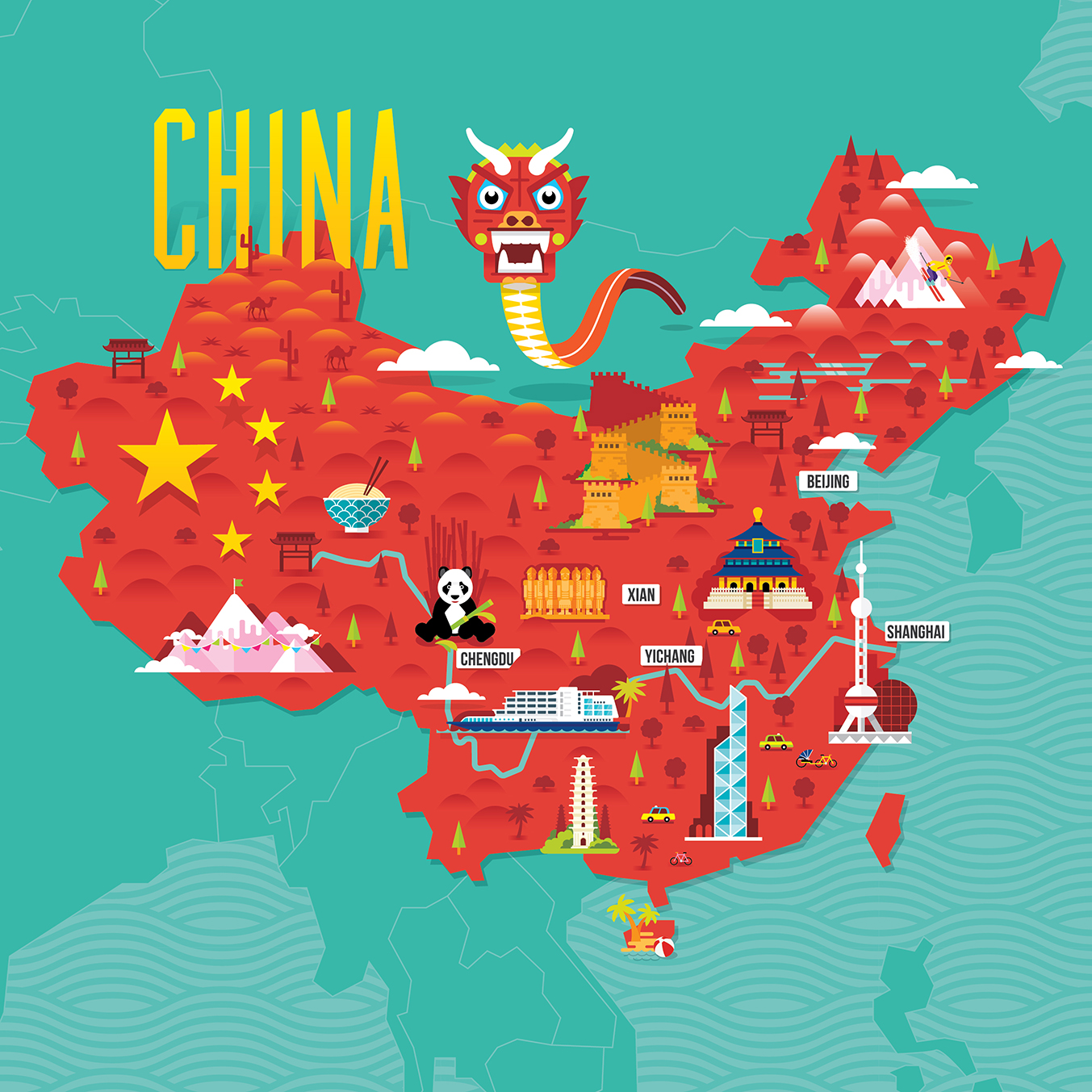 China Tourism Stuart Holmes Design