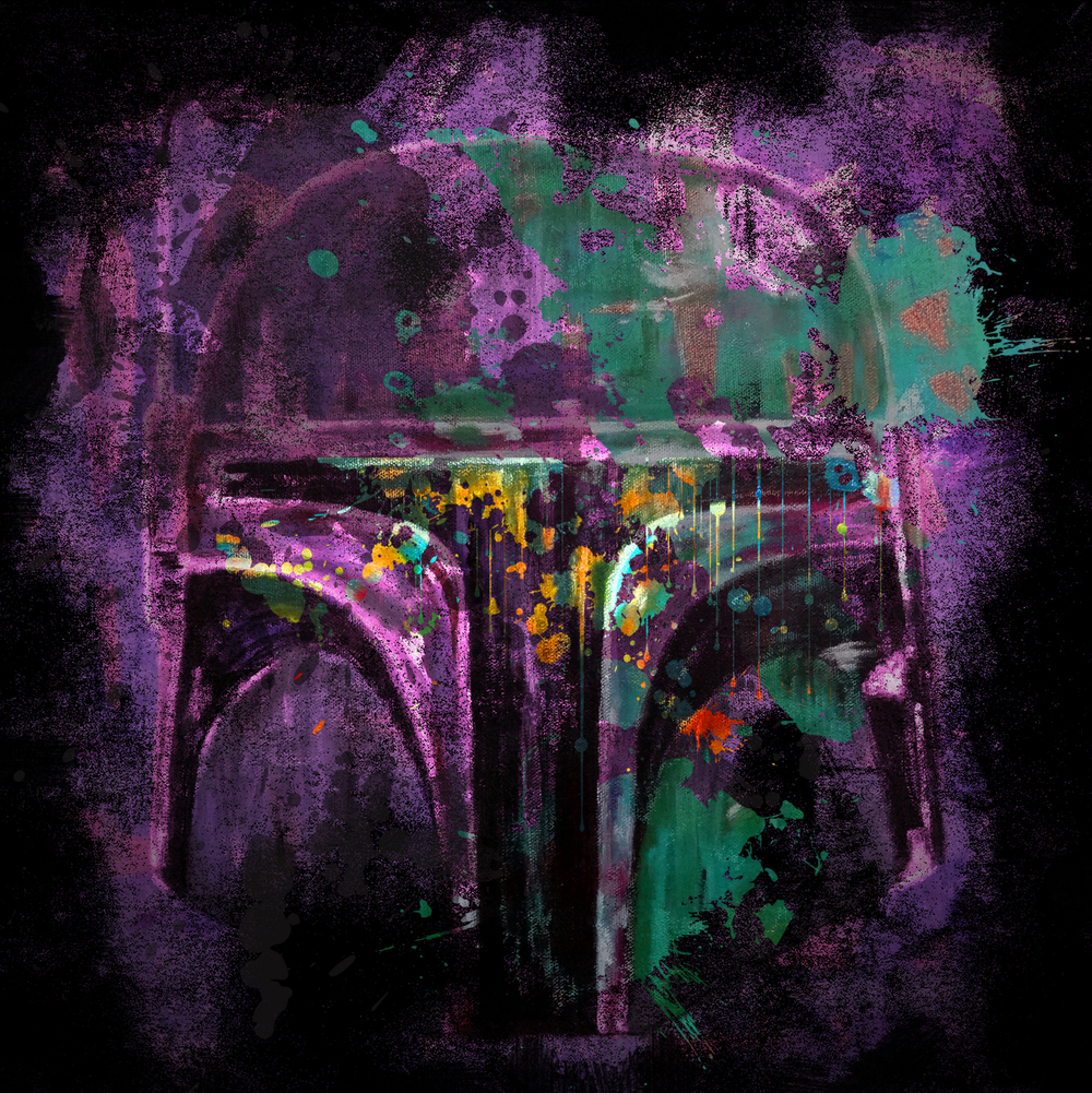 Abstract Fett T-Shirt Design for -  Teepublic