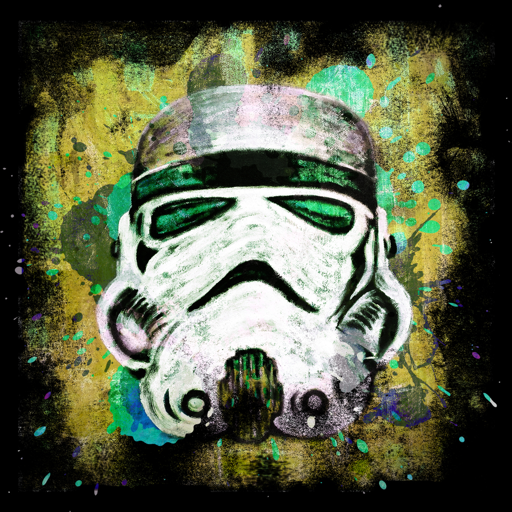 Abstract Stormtrooper T-Shirt Design for -  Teepublic