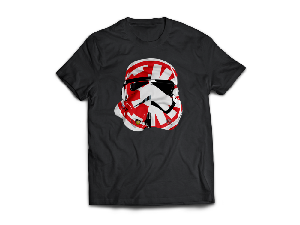 Control the Galaxy Stormtrooper T-shirt Jlane Design Teepublic