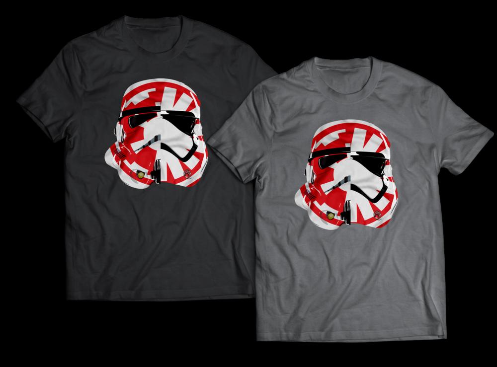 Stormtrooper First Order Helmet T-shirt Design Jlane Design Teepublic