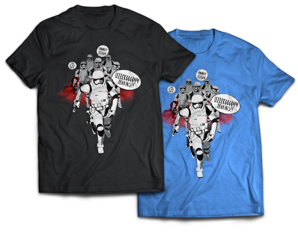 Stormtrooper Jenkins Shirts
