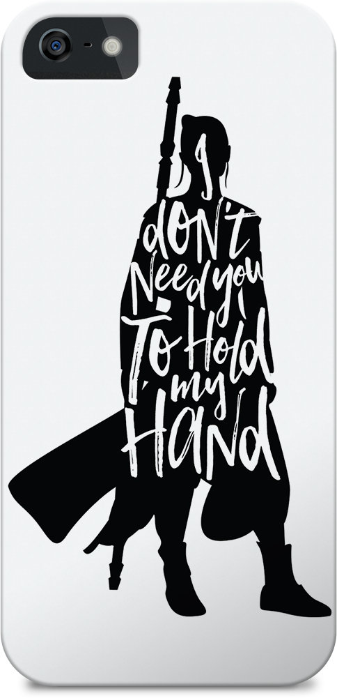 Don't Hold My Hand Rey Quote iPhone Case Jlane Design Teepublic