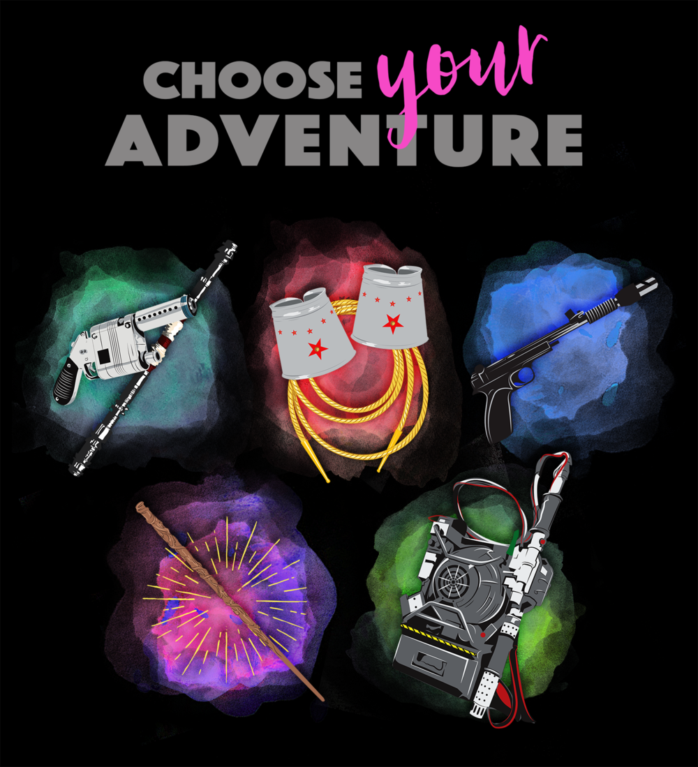 Choose Your Adventure T-Shirt Design for -  Teepublic