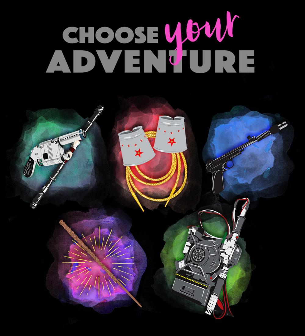 Choose Your Adventure T-Shirt Design for - Teepublic