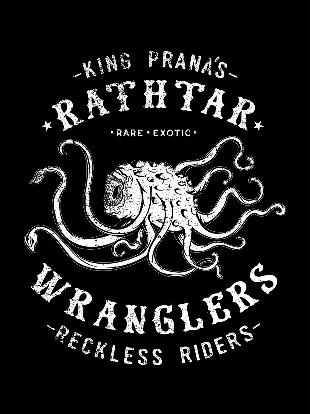 Rathtar Wranglers T-Shirt Design for -Teepublic