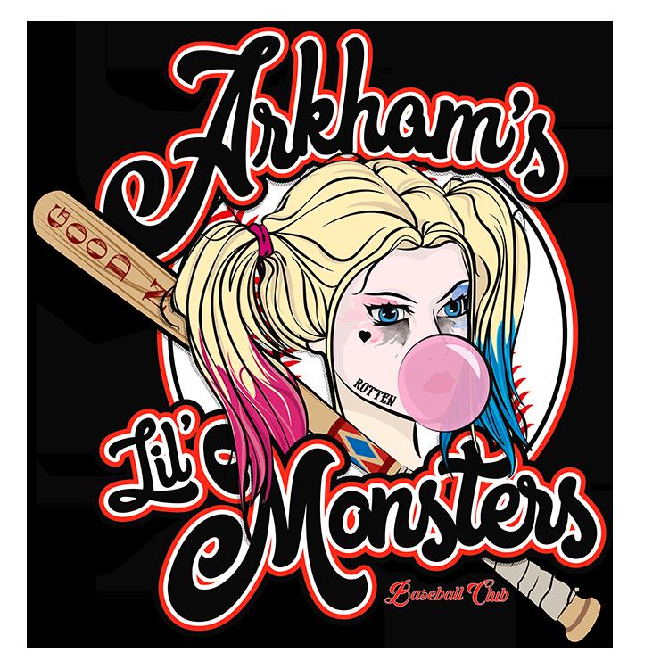 Arkham's Baseball Club T-Shirt Design for -  Teepublic