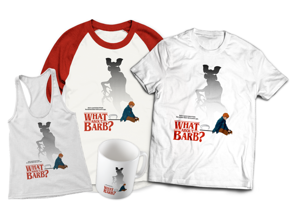 What About Barb Stranger Things T-shirts Mugs and Tank Tops Teepublic Jlane Design