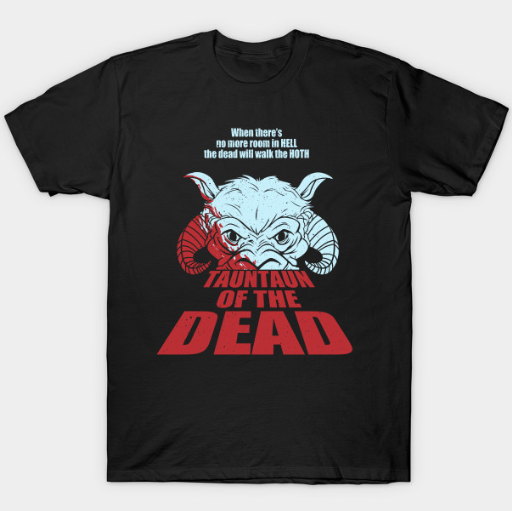 Tauntaun of the Dead T-shirt Blair J. Campbell