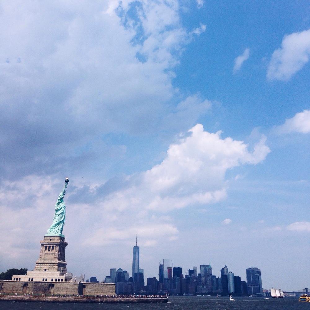 The Statue of Liberty is huge. HUGE.