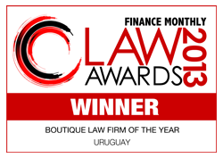Finance Monthtly - Global Awards 2013 - Boutique _ Wealth Management _ Trust Law Firm of the Year Uruguay.png