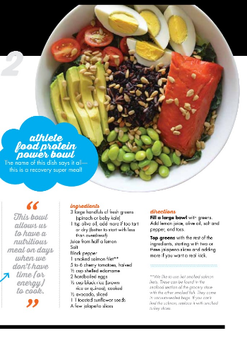 Athlete food in triathlete magazine athlete food the photo above is an outtake and the picture to the left is a quick look at one of the magazine pages were so grateful to have the opportunity to share forumfinder Images