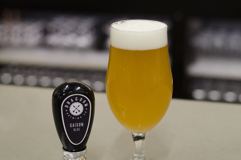 SAISON BLUE Southwest Farmhouse ABV: 7.5% IBU: 33 SRM: 5