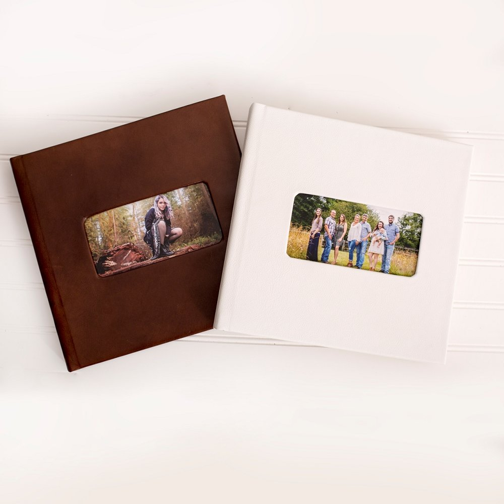 Custom Leather Albums