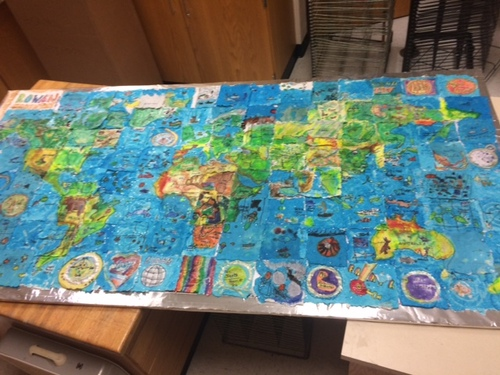 Third graders created the world in only 10 days!
