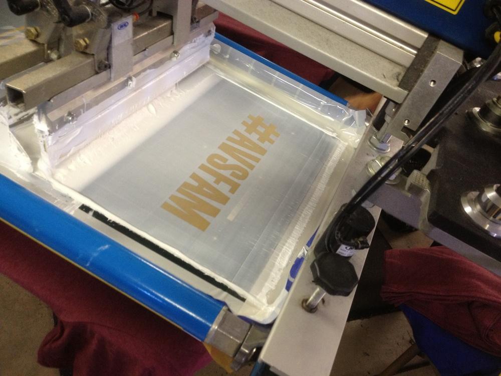 The AvsFam screen ready to print.