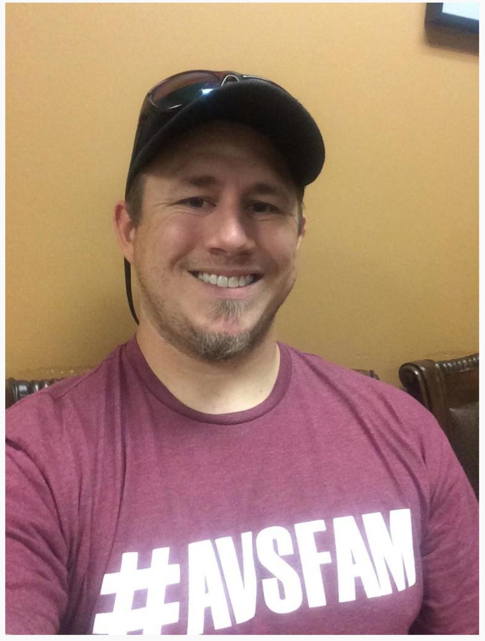 @BlakeWollenberg keeping it classy! #AvsFam
