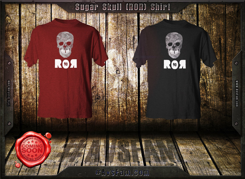 If you take zen and mix it with ROR you get the ROR sugar-skull shirt. We think it's a prefect mix of what makes ROR so awesome and we think the shirt is going to be a classic. Still working out some of the art, but the above mock-up is pretty close to what you'll see in the shop soon.