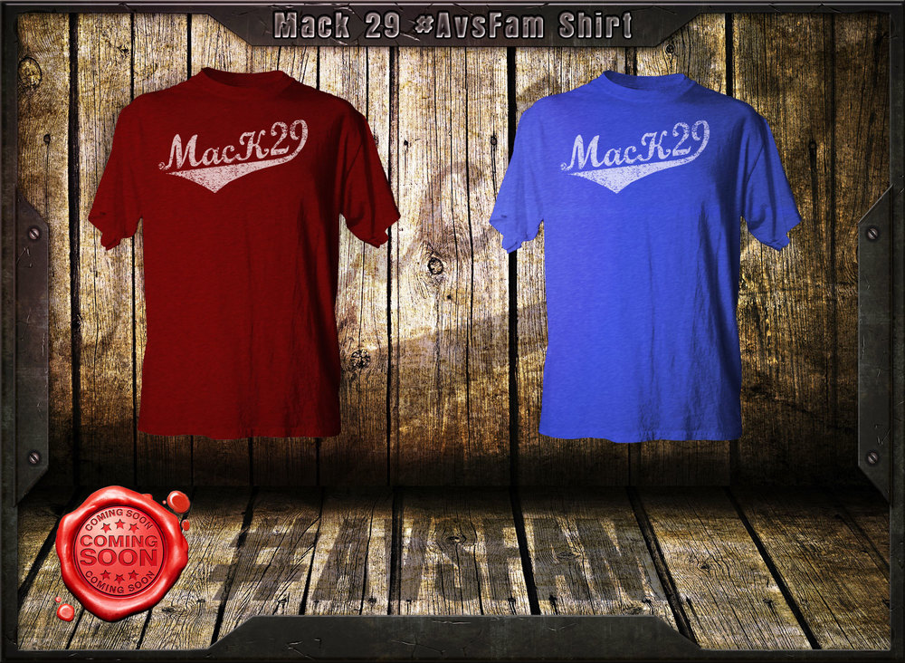 Updated Mack29 art on mens shirt