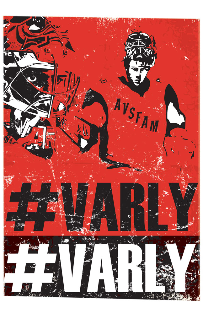 The #VarlyVarly poster! We like to keep it as real as we can to the players story, past, present and future. This is a very Russian inspired retro poster that is begging to be screen printed for authenticity.